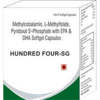 Methylcobalamin L-Methylfolate Pyridoxal 5-Phosphate with EPA and DHA Softgel Capsules