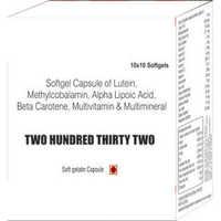 Softgel Capsule of Lutein Methylcobalamin Alpha Lipoic Acid Beta Carotene Multivitamin