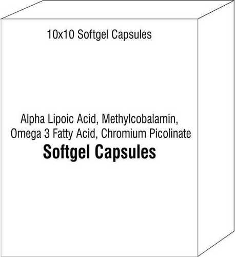 Alpha Lipoic Acid Methylcobalamin Omega 3 Fatty Acid Chromium Picolinate