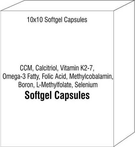 Ccm Calcitriol Vitamin K2-7 Omega-3 Fatty Folic Acid Methylcobalamin Boron L-Methylfolate Selenium