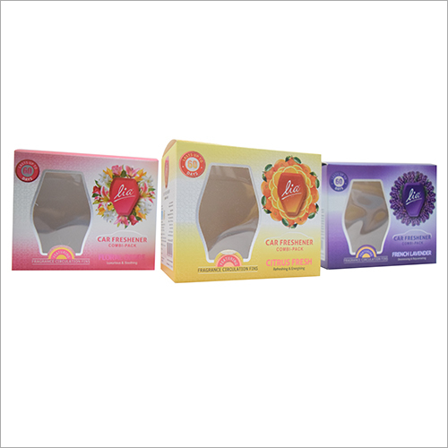 Car Air Freshener Packaging Box