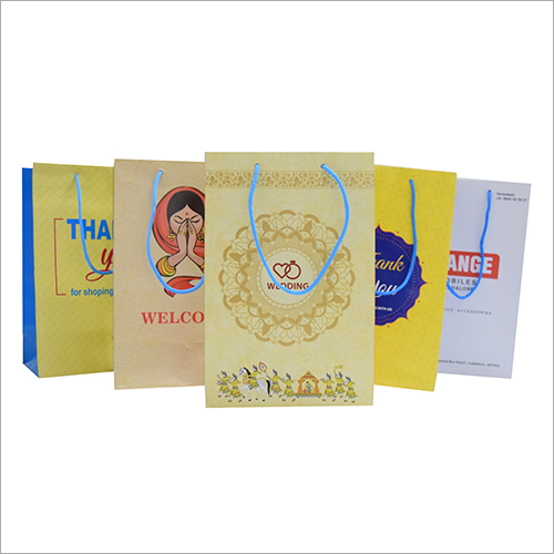Eco Friendly Duplex Paper Carry Bag