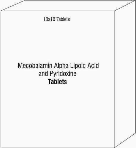 Mecobalamin Alpha Lipoic Acid and Pyridoxine Tablets