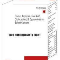Ferrous Ascorbate Folic Acid Cholecalciferol and Cyanocobalamin Softgel Capsules