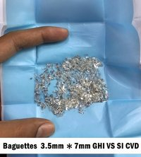 Baguettes 3.5mm - 7mm GHI VS SI CVD TYPE2A Diamond