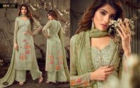 Hot Lady Heavy Georgette Plazzo Salwar Suits