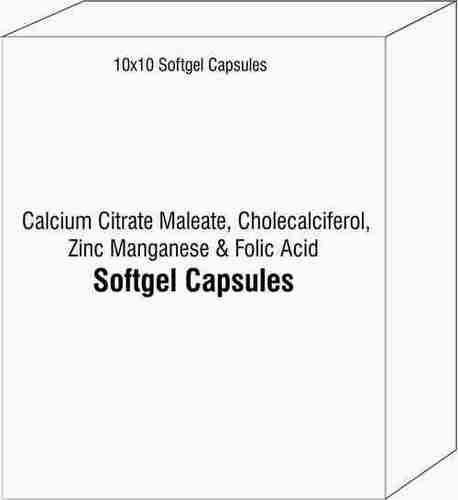 Food Supplement Softgelatin Capsules
