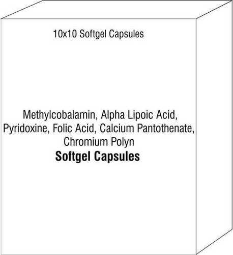 Methylcobalamin Alpha Lipoic Acid Pyridoxine Folic Acid Capsules Calcium Pantothenate Chromium Polyn