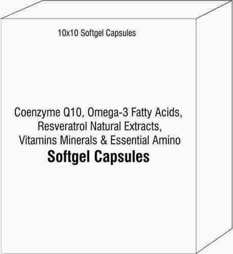 Coenzyme Q10 Omega-3 Fatty Acids Resveratrol Natural Extracts Vitamins Minerals and Essential Amino