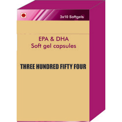 EPA and DHA Soft Gel Capsules
