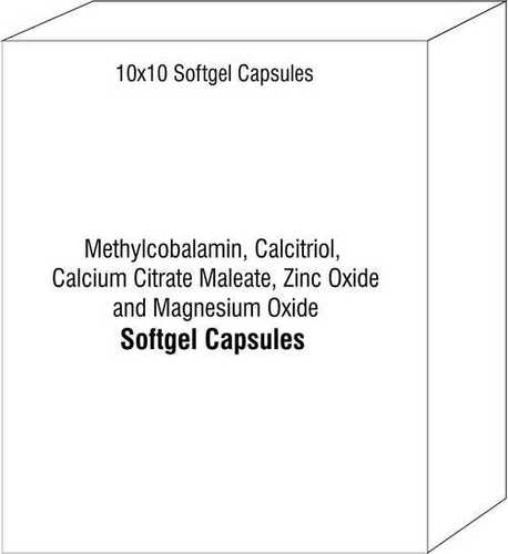 Methylcobalamin Calcitriol Calcium Citrate Maleate Zinc Oxide and Magnesium Oxide