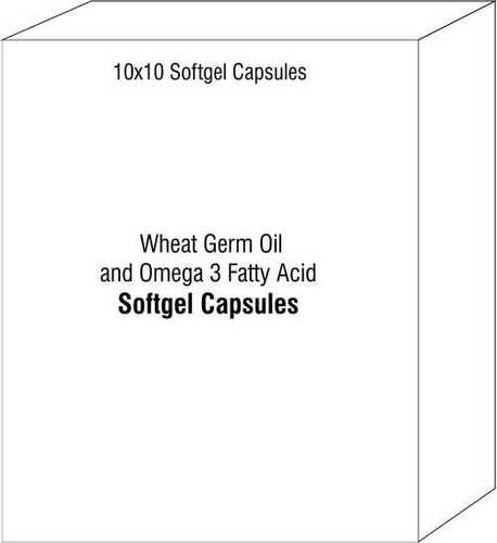 Wheat Germ Oil and Omega 3 Fatty Acids Softgels
