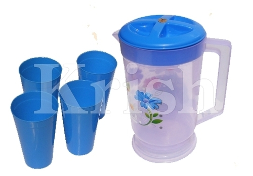 Super Jug with Bottom - 4 Pcs