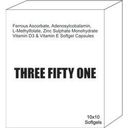 Ferrous Ascorbate Adenosylcobalamin L-Methylfolate Zinc Sulphate Monohydrate Vitamin D3 and Vitamin