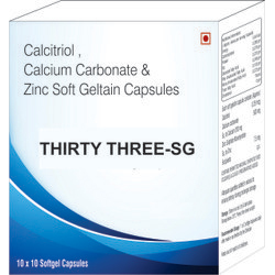 Calcitriol Calcium Carbonate & Zinc