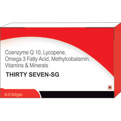 Coenzyme Q10 Lycopene Omega 3 Fatty Acid Methylcobalamin Vitamins & Minerals