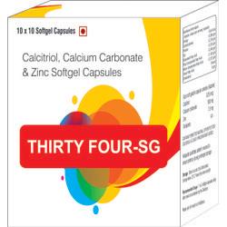 Calcitriol,Calcium Carbonate & Zinc