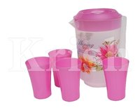 Jumbo Jug Set - 4 Glass