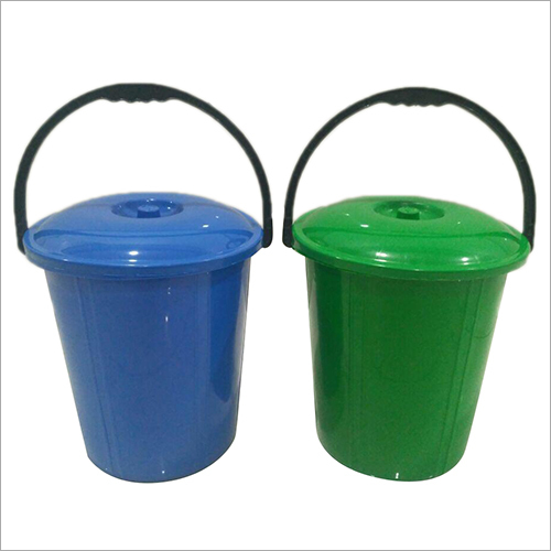 12 Ltr Plastic Bucket With Lid