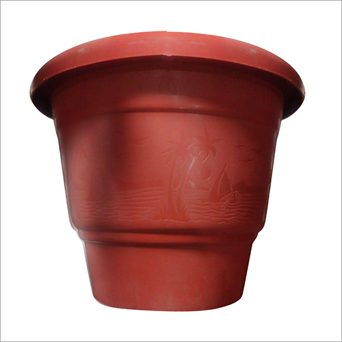 Plastic Round Garden Planter
