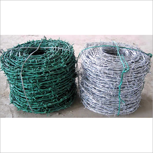 Double Strand Barbed Wire Fence