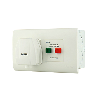 AC Box With Motor Starter