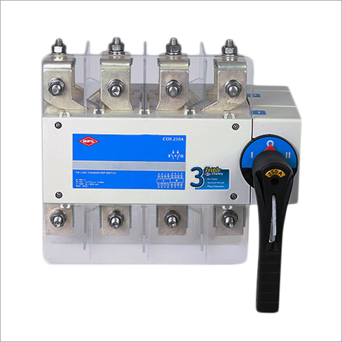 Three Phase On Load Changeover Switch