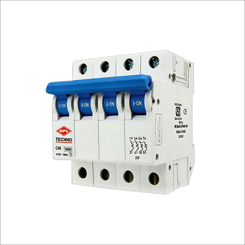 Four Pole Miniature Circuit Breaker