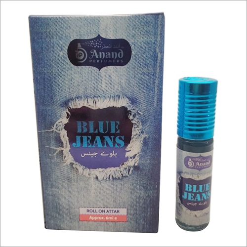6 Ml Blue Jeans Roll On Attar
