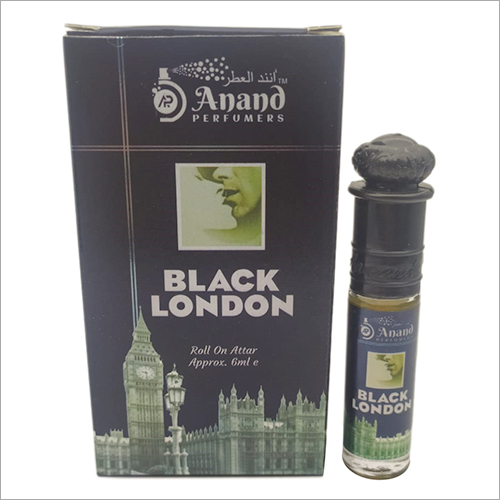 6 Ml Black London Roll On Attar