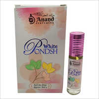 6 Ml White Pondsh Roll On Attar