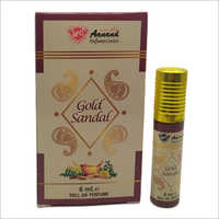 6 Ml Gold Sandal Roll On Perfume