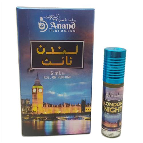 6 Ml london Night Roll On Perfume