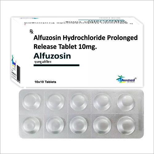 10 MG Alfuzosin Hydrochloride Prolonged Release Tablets