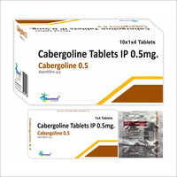 0.5 Mg Cabergoline Tablets Ip