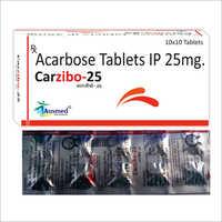 25 MG Acarbose Tablets IP