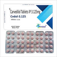 3.125 MG Carvedilol Tablets IP