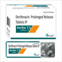 7.5 MG Darifenacin Prolonged Release Tablets IP