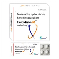 Fexofenadine Hydrochloride And Montelukast Tablets