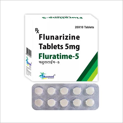 5 MG Flunarizine Tablets