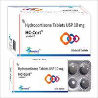 10MG Hydrocortisone Tablets USP