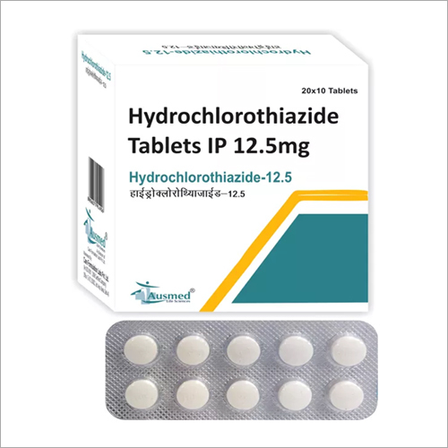 12.5 MG Hydrochlorothiazide Tablets IP