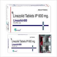 Linezolid IP 600 mg/LINEZOLID-600