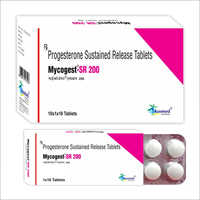 Progesterone Sustained Release Tablets