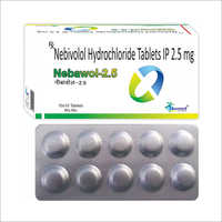 2.5 MG Nebivolol Hydrochloride Tablets IP