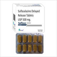 500 MG Sulfasalazine Delayed Release Tablets USP