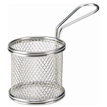 Mini Serving Basket Round