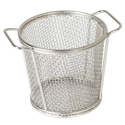 Mini Serving Basket Round