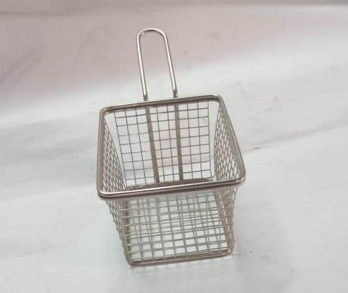 Mini Serving Basket Rectangle (Mesh)
