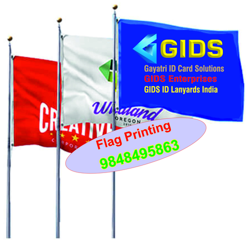 Multy color Pole Flag Printing